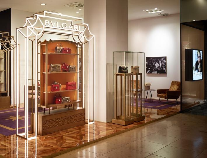 bulgari pop up store im oberpollinger in m nchen beauty for her. Black Bedroom Furniture Sets. Home Design Ideas
