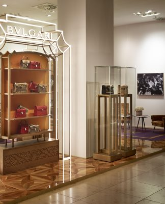 Bulgari Pop-up Store im Oberpollinger in München