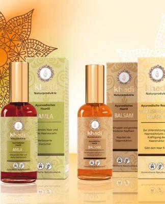 Shampoos und Haarölen von Kahdi